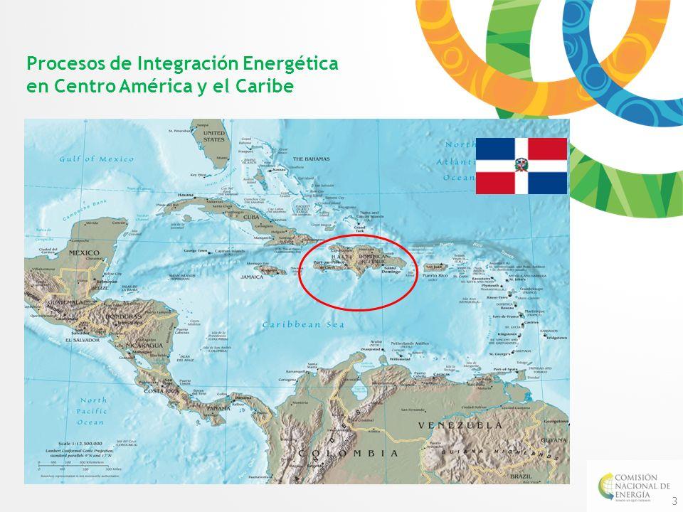 Procesos de Integración Energética en Centro América y el Caribe 3