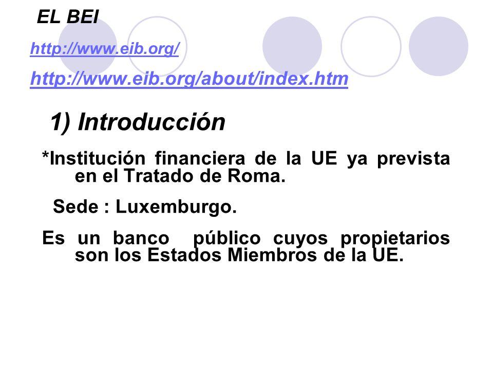 Los beneficiarios de los préstamos del BEI Los clientes del BEI son entidades del sector público y empresas privadas.