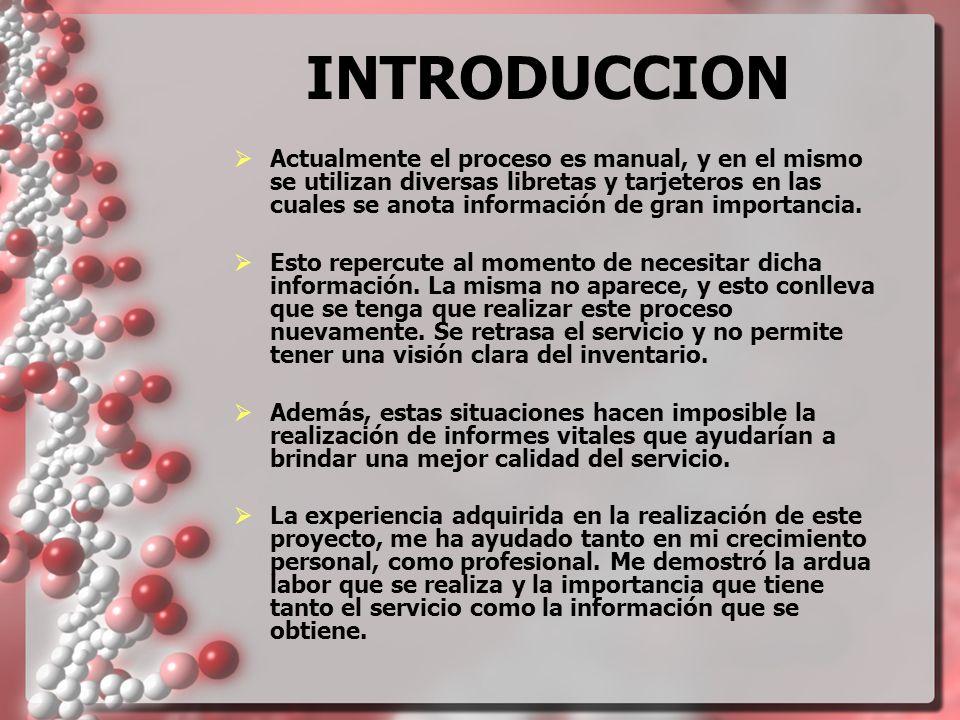 IMPORTANCIA El servicio de Transfusión es crítico para la medicina moderna.