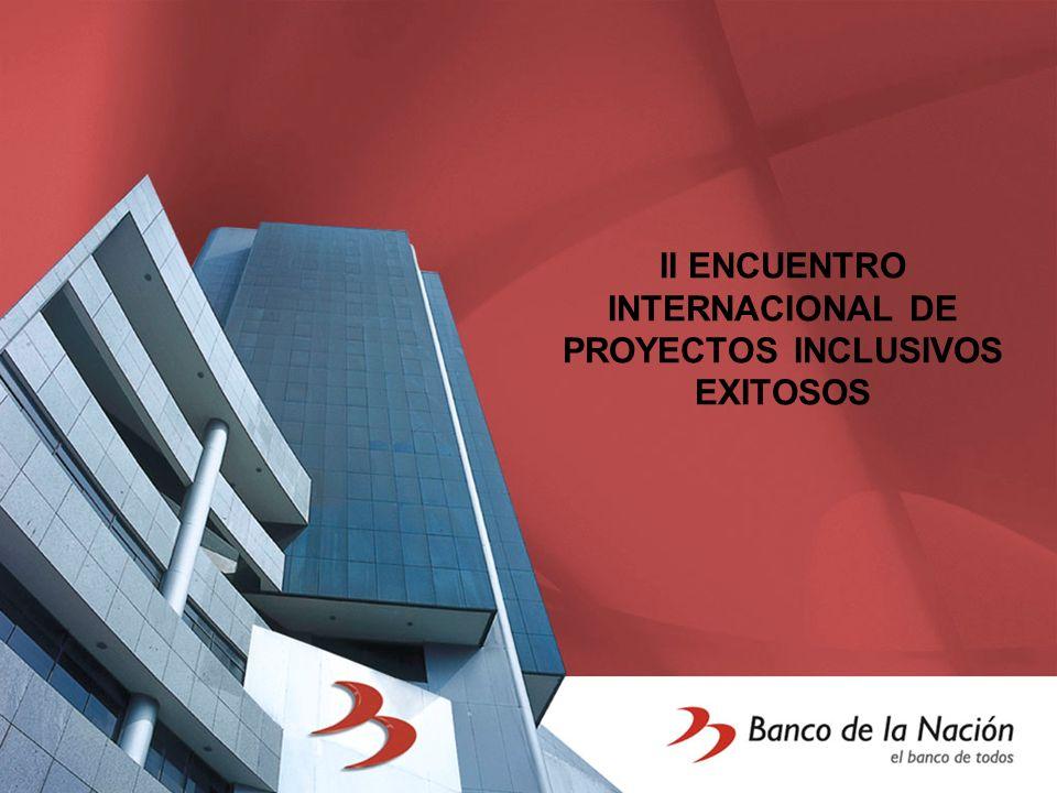 II ENCUENTRO INTERNACIONAL DE PROYECTOS INCLUSIVOS EXITOSOS