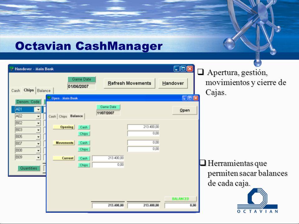 Apertura, gestión, movimientos y cierre de Cajas. Apertura, gestión, movimientos y cierre de Cajas.
