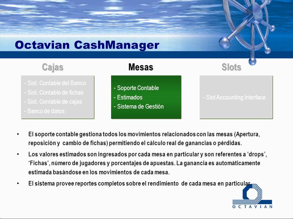 Octavian CashManager - Soporte Contable - Estimados - Sistema de Gestión - Soporte Contable - Estimados - Sistema de Gestión - Sist. Contable del Banc