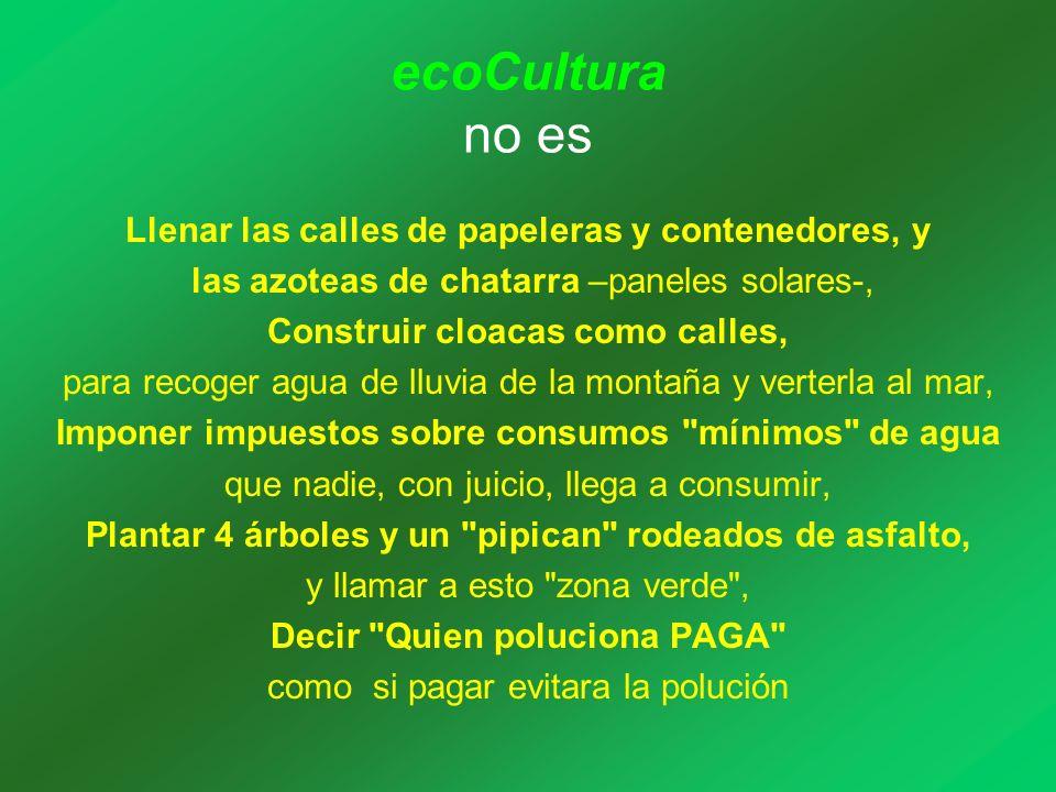 los elementos entorno al hábitat