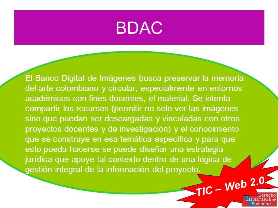 El Banco Digital de Imágenes busca preservar la memoria del arte colombiano y circular, especialmente en entornos académicos con fines docentes, el material.