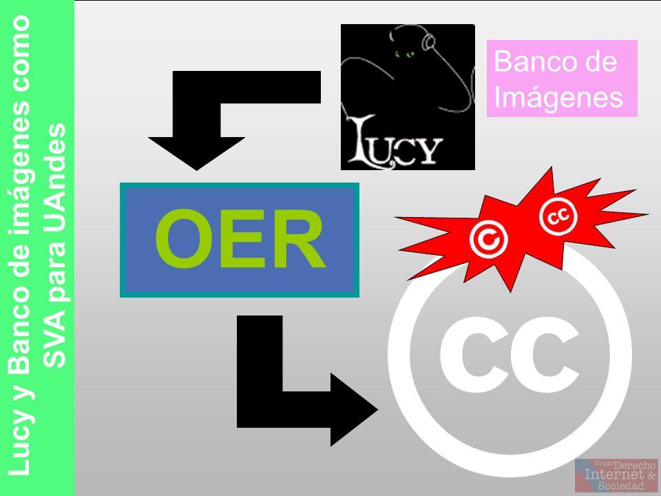 OER Lucy y Banco de imágenes como SVA para UAndes Banco de Imágenes