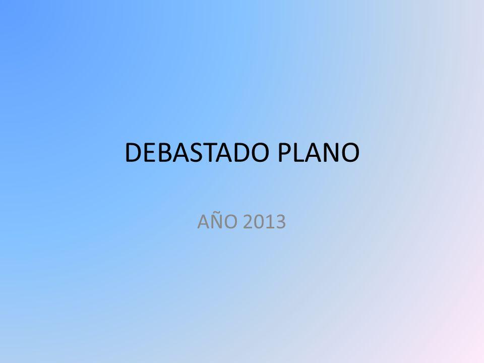 DEBASTADO PLANO AÑO 2013