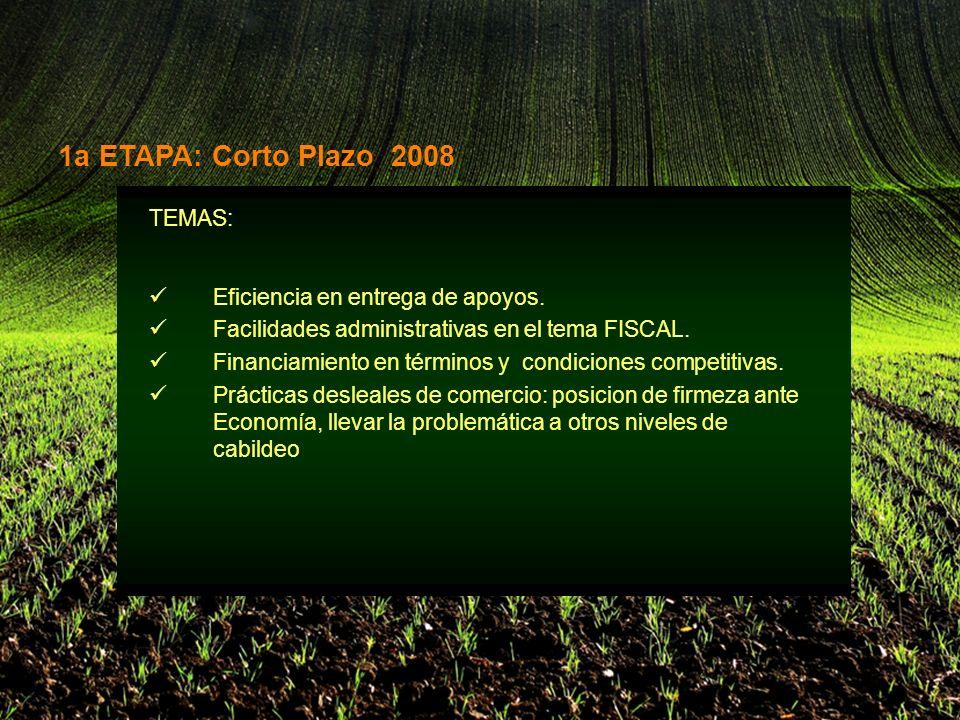 TEMAS: Eficiencia en entrega de apoyos. Facilidades administrativas en el tema FISCAL.