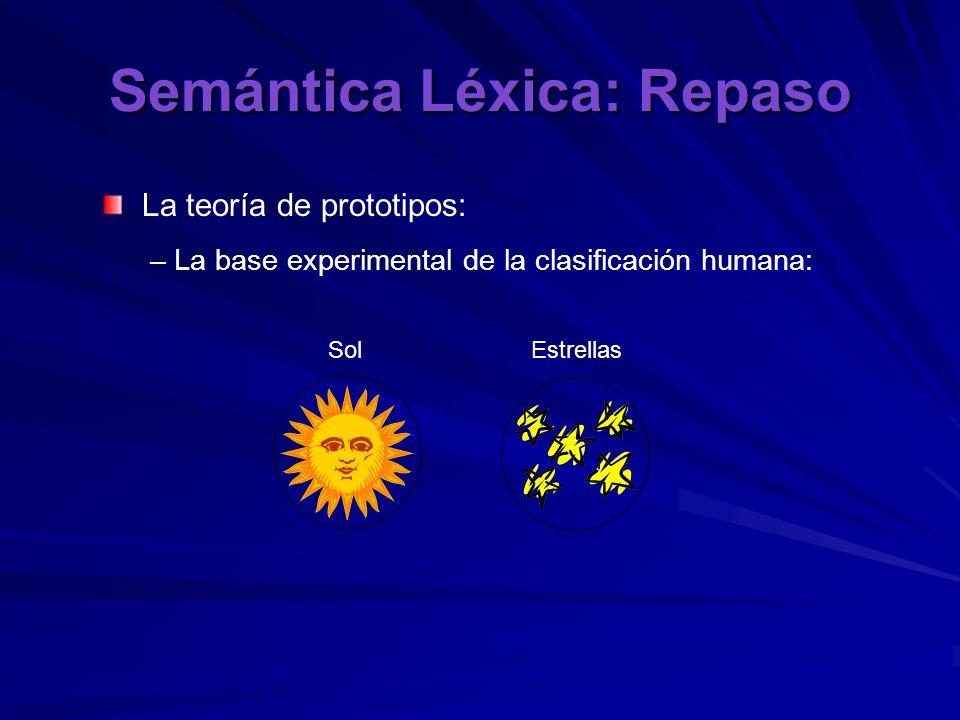 Semántica Léxica: Repaso Ejemplo de «llave» y «key» «llave»