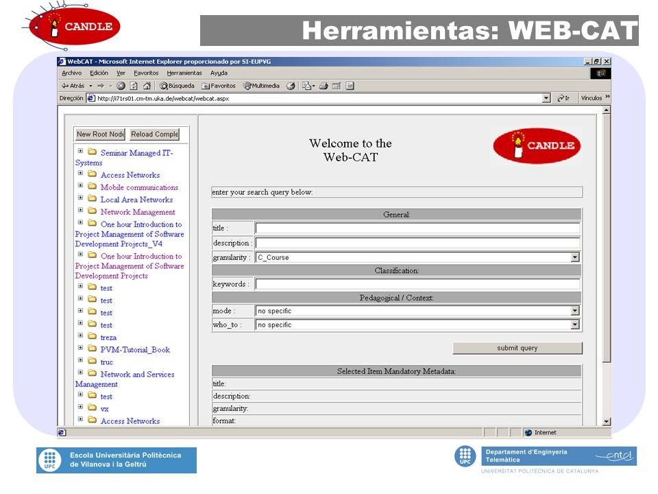 Herramientas: WEB-CAT