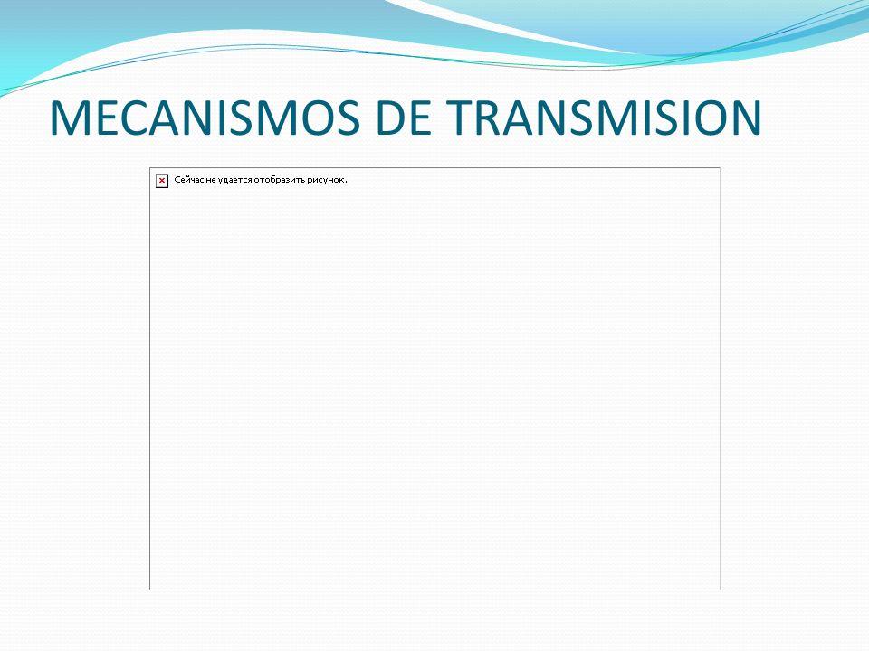 MECANISMOS DE TRANSMISION