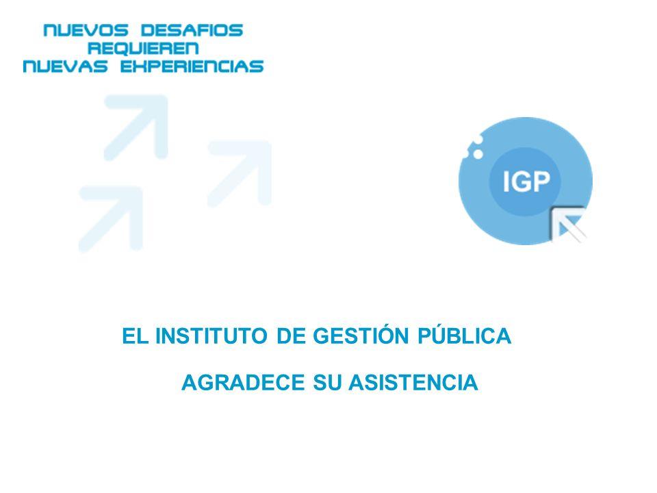 www.igp.org.ar Área de Prensa Base de información del IGP Noticias Notas de Prensa Editoriales Encuestas Agenda Envíos de Colaboraciones