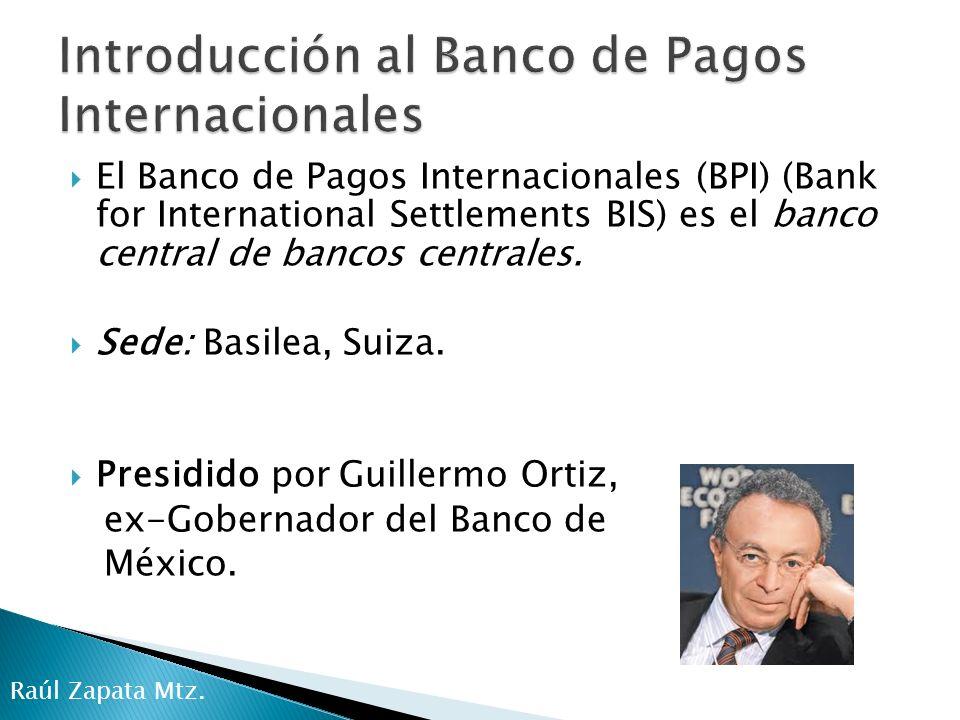 Denisse Barbosa Alonso Considero que el Banco de Pagos Internacionales nació debido a la necesidad de manejar los flujos monetarios y financieros de manera global.