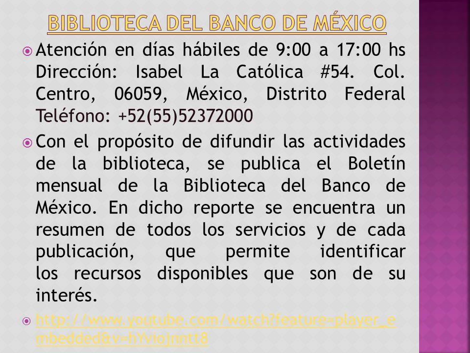 Atención en días hábiles de 9:00 a 17:00 hs Dirección: Isabel La Católica #54.