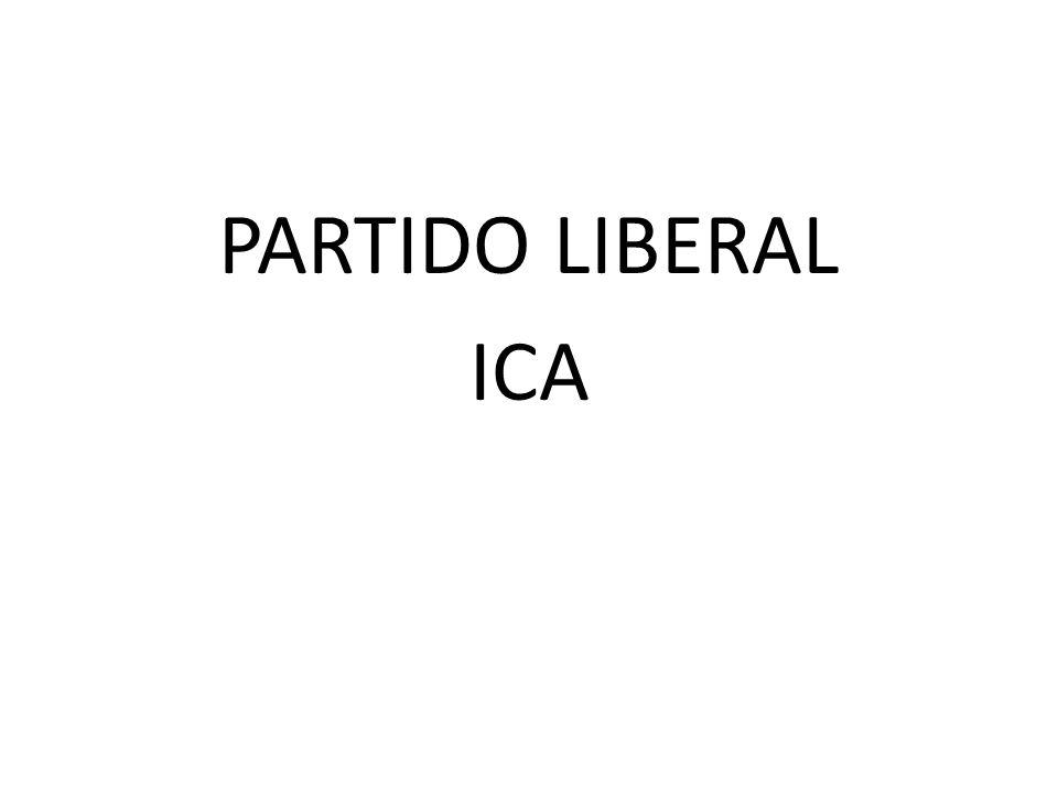 PARTIDO LIBERAL ICA