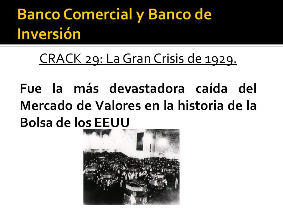 CRACK 29: La Gran Crisis de 1929.