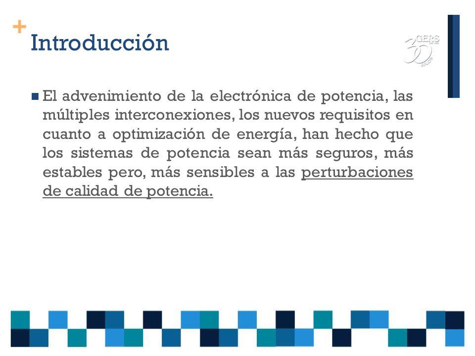 + PERTURBACIONES DE CALIDAD DE POTENCIA Ing. Humberto López