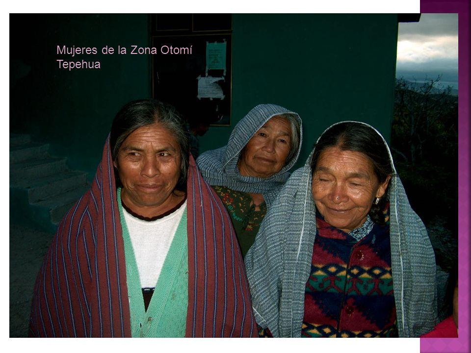 Mujeres de la Zona Otomí Tepehua