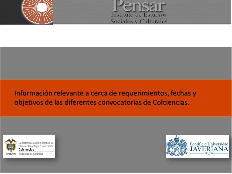 Conformación de un Banco de Proyectos regionales en el marco de la iniciativa Vive Digital Fecha apertura: Feb 15 Plazo máximo para participar 2 de marzo de 2012 hasta las 4:00 p.m.