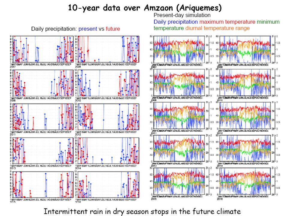 Principales impactos del Cambio Climático