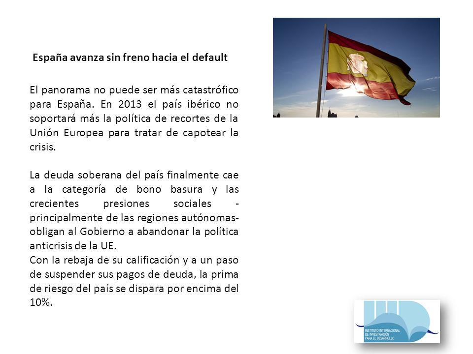 El panorama no puede ser más catastrófico para España.