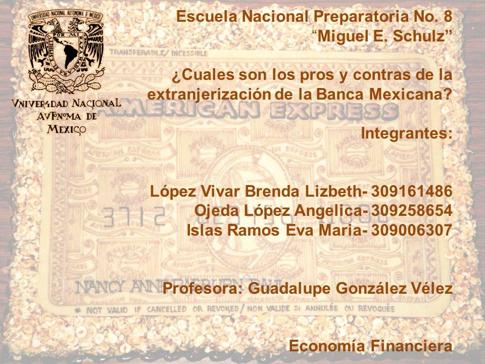 Escuela Nacional Preparatoria No. 8Miguel E.