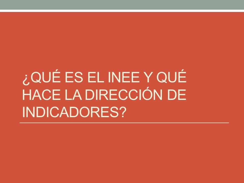 ¿Qué es el INEE.