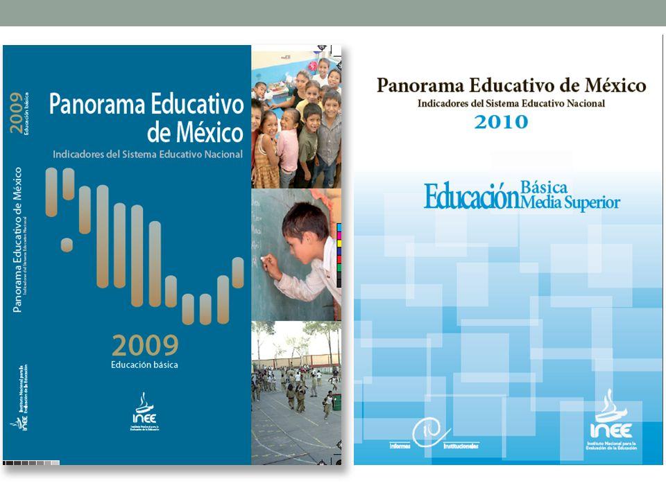 Tasa de absorción a Educación Media Superior (inicio de ciclos 2000/2001 y 2010/2011) Tasas de deserción total y componentes