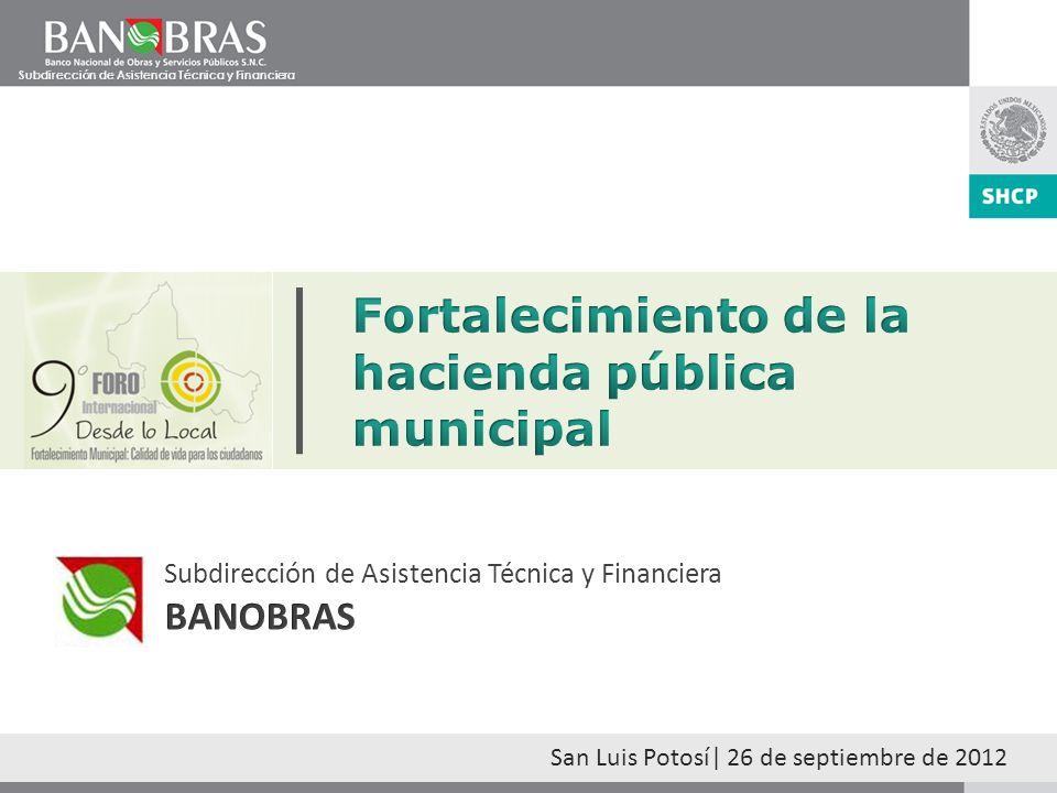 1 BANOBRASBANOBRAS Uno de los productos más importantes de la banca de desarrollo es la asistencia técnica y financiera para que los sectores público y privado desarrollen infraestructura, fortalezcan sus haciendas públicas y mejoren la provisión de servicios públicos.