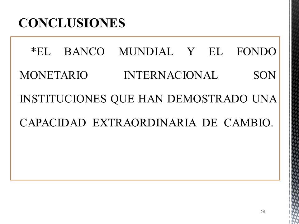 LA RESPONSABILIDAD DEL DESARROLLO, RADICA PRINCIPALMENTE EN LOS PAÍSES EN DESARROLLO EL DESARROLLO DEBER SER SOSTENIBLE, GENERADOR DE EMPLEOS, EQUITATIVO Y RESPETUOSO DEL AMBIENTE LA AYUDA CONCESIONAL DEBERÍA CONCENTRARSE EN LOS PAÍSES MAS POBRES LA AYUDA AL DESARROLLO DEBE BASARSE EN LA SOLIDARIDAD Y EN UNA EFECTIVA DISTRIBUCIÓN DE LA CARGA ENTRE TODOS LOS PARTICIPANTES DEL PROCESO DE DESARROLLO REVISION Y REFORMAS DEL FUNCIONAMIENTO DEL FMI Y DEL BM 25