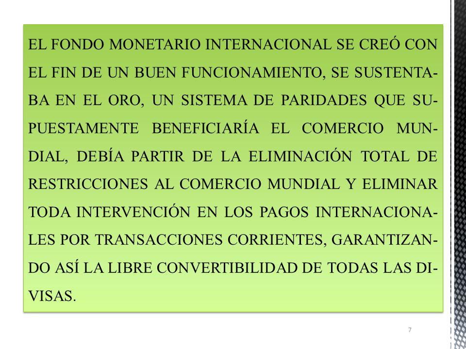 FONDO MONETARIO INTERNACIONAL FMI 6