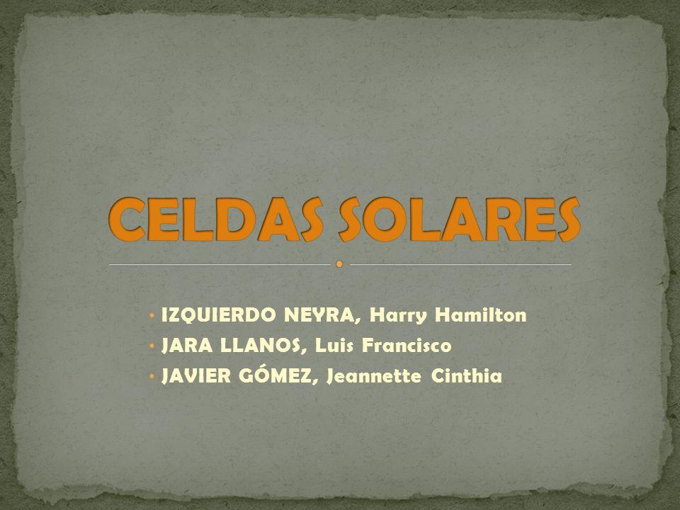 IZQUIERDO NEYRA, Harry Hamilton JARA LLANOS, Luis Francisco JAVIER GÓMEZ, Jeannette Cinthia