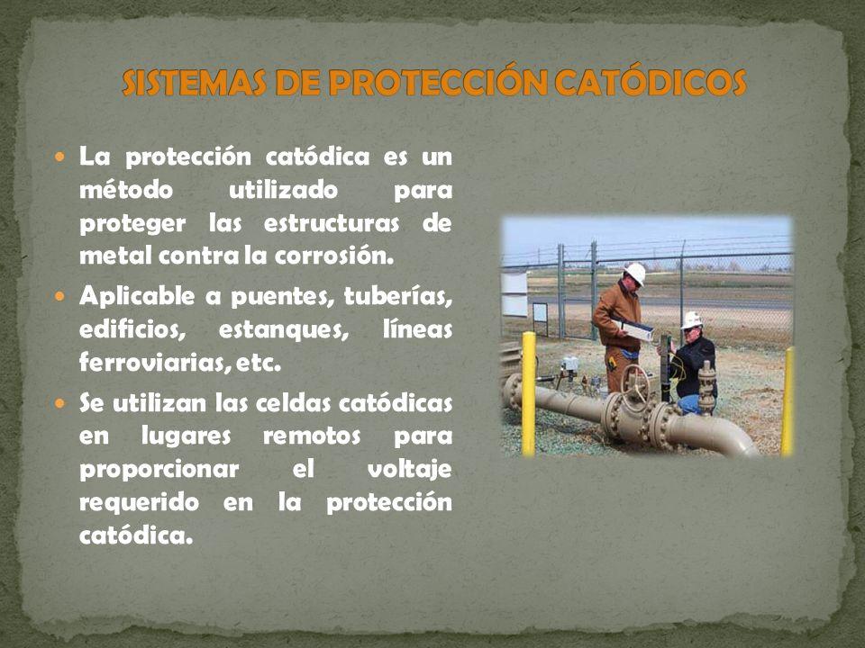 La protección catódica es un método utilizado para proteger las estructuras de metal contra la corrosión. Aplicable a puentes, tuberías, edificios, es