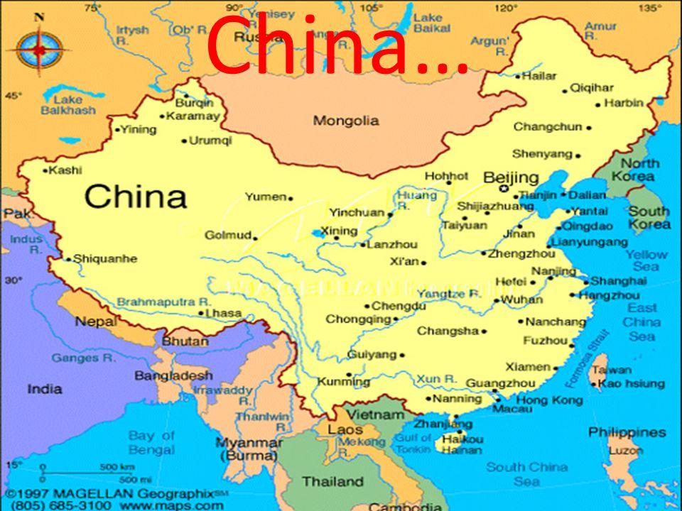 China…