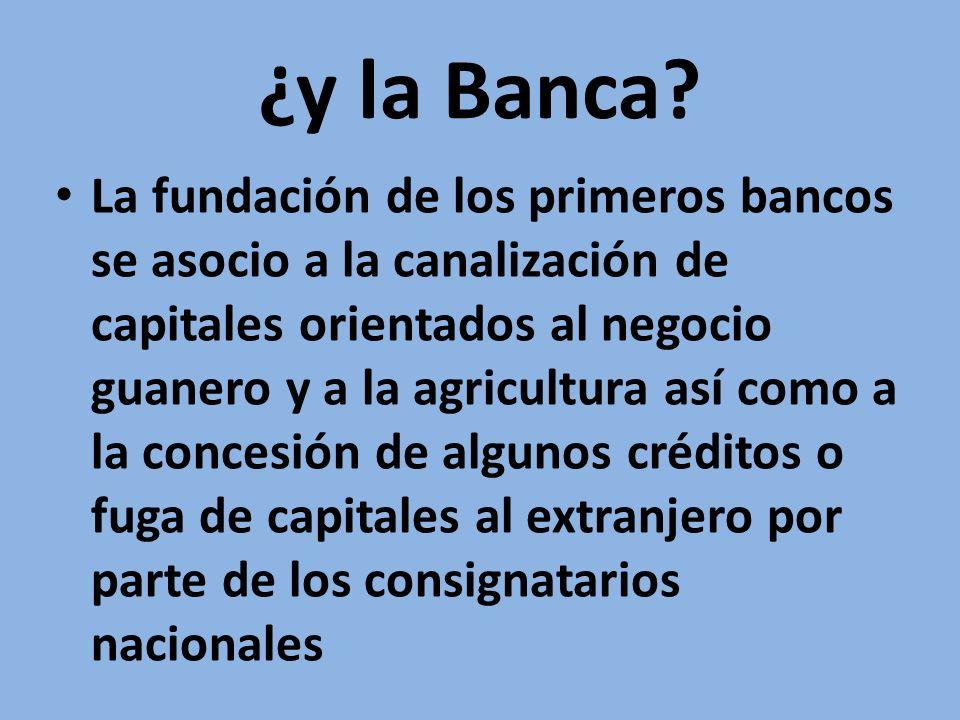 ¿y la Banca.