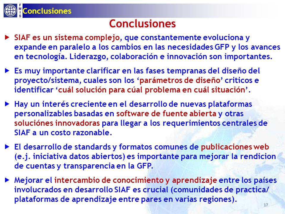 Conclusiones 17