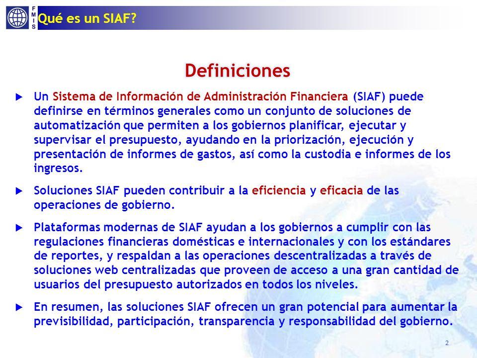 Qué es un SIAF? 2