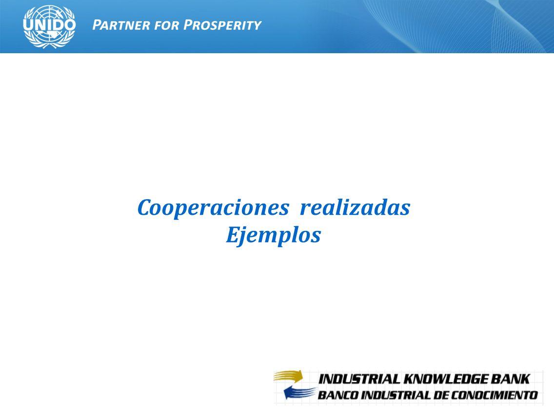 10 Cooperaciones realizadas Ejemplos