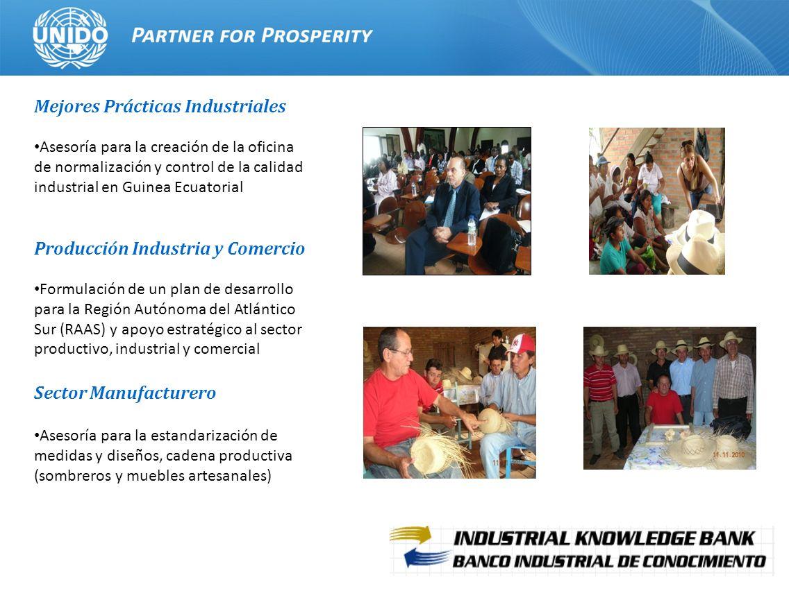 14 Mejores Prácticas Industriales Asesoría para la creación de la oficina de normalización y control de la calidad industrial en Guinea Ecuatorial Pro