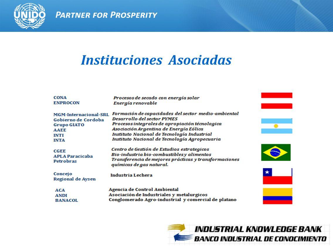 8 Instituciones Asociadas