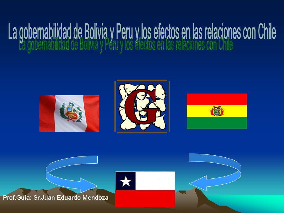 Prof.Guía: Sr.Juan Eduardo Mendoza
