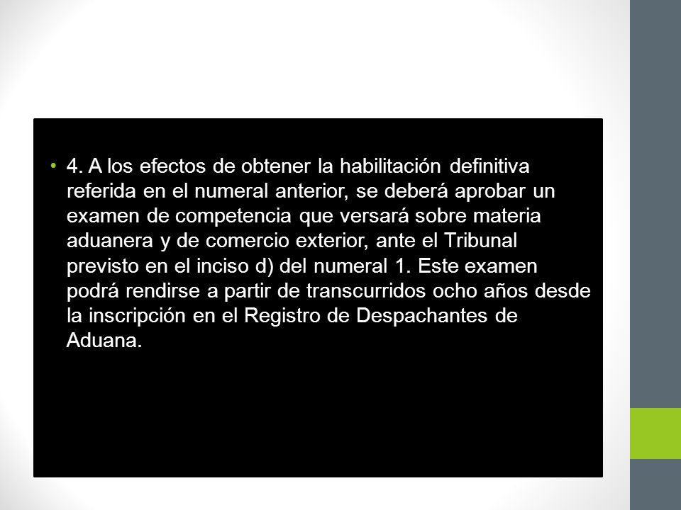 Artículo 16.Despachante de Aduana persona jurídica 1.