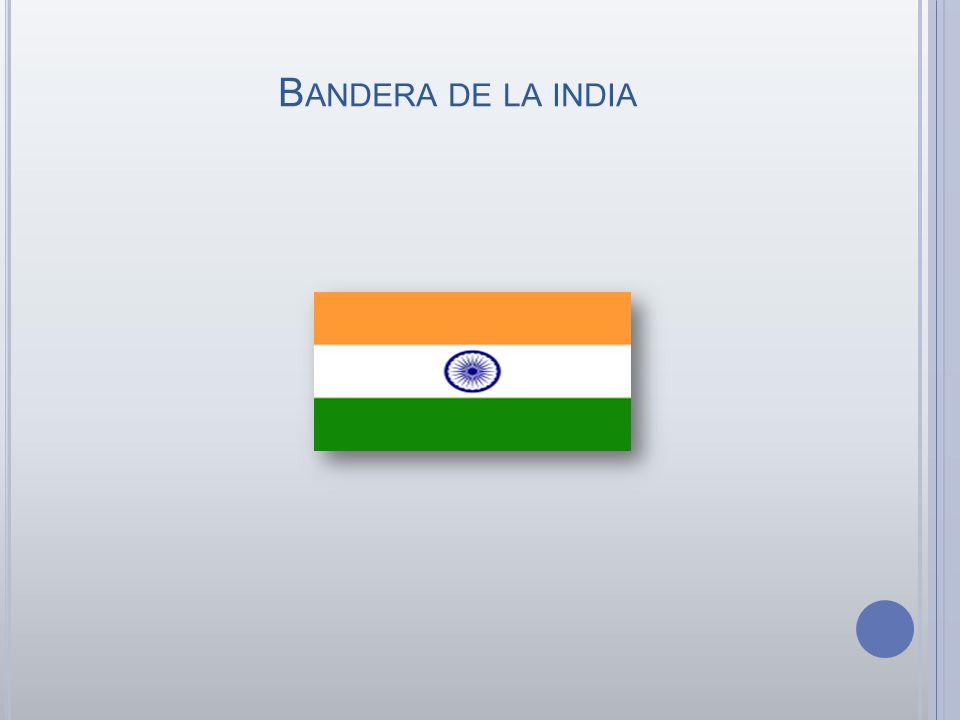 B ANDERA DE LA INDIA