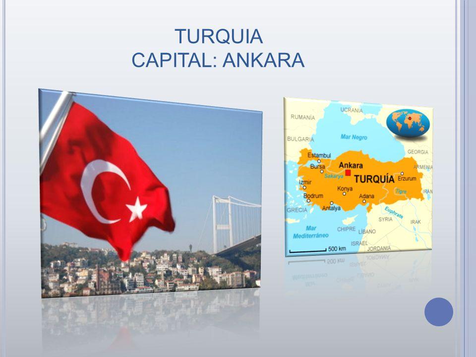 TURQUIA CAPITAL: ANKARA