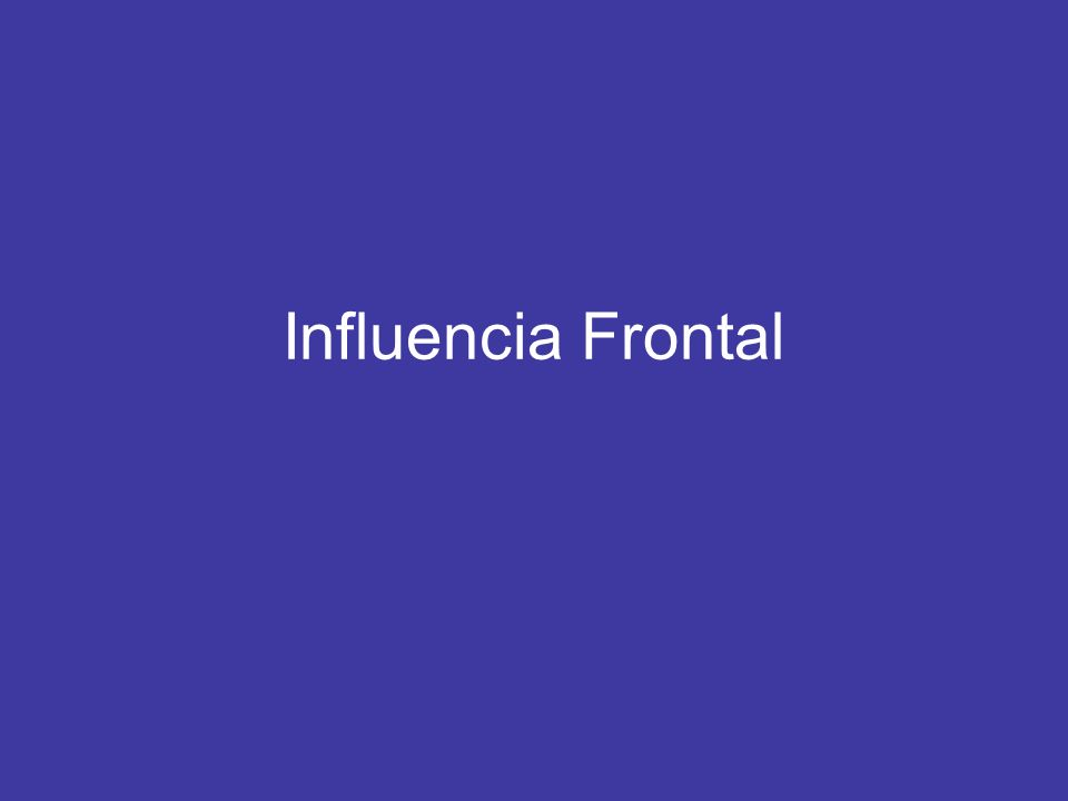 Influencia Frontal