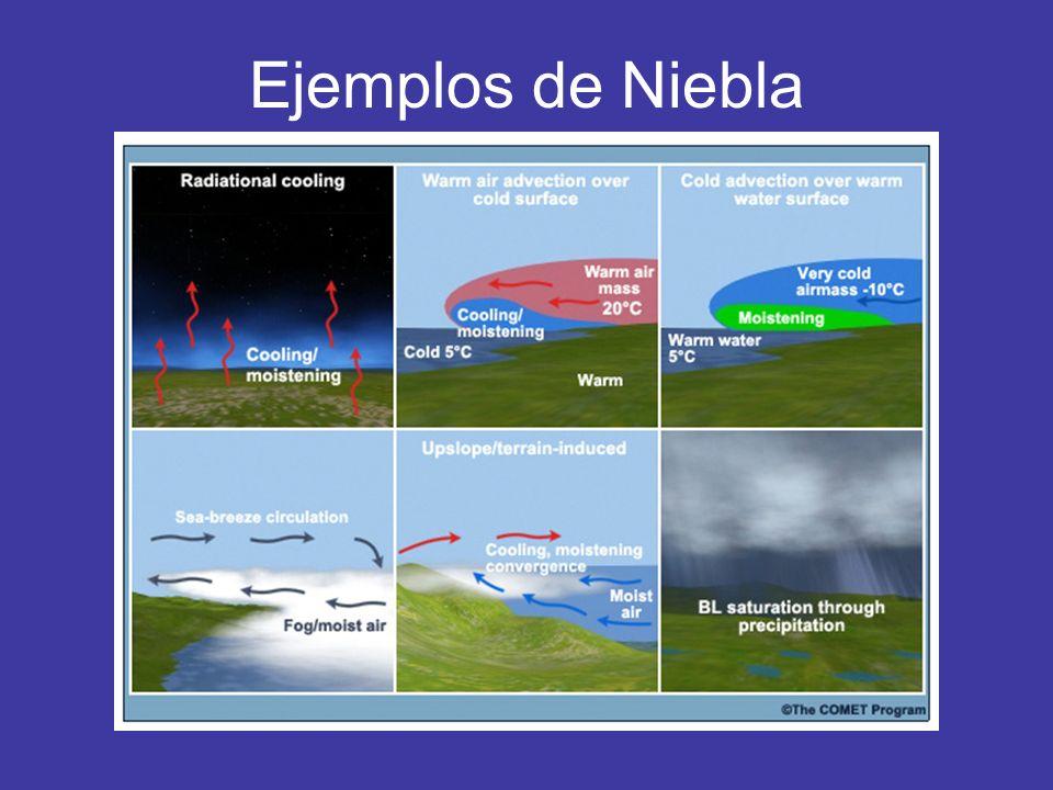 Ejemplos de Niebla