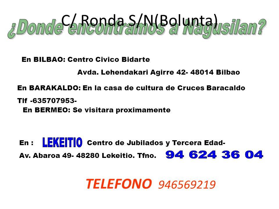 En BILBAO: Centro Civico Bidarte Avda.