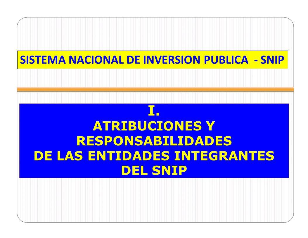 CELAP Convenio SNIP 12 OBJETO: GL sujeto al SNIP formula, evalúa y declara viable PIPs de GL no sujeto.