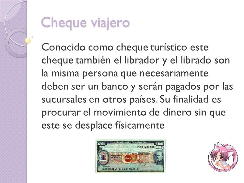Cheque fiscal Fue creado por ley primera de 1980 se trata de cheque girado a favor de las entidades públicas; con el fin de prevenir el fraude contra las entidades.
