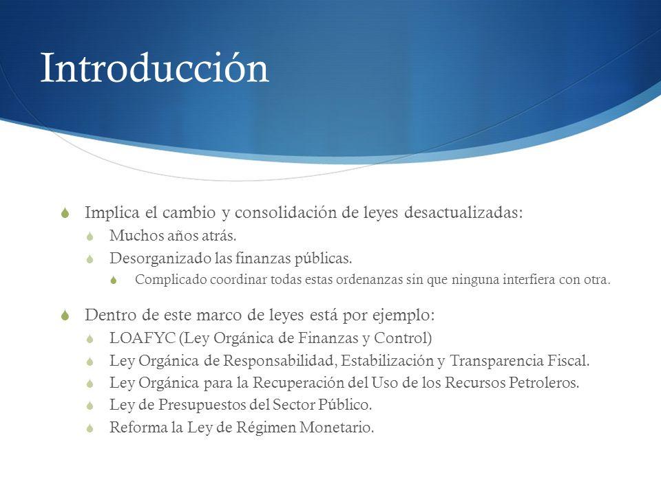 Planificación: Ecuador contaba con planes de desarrollo.