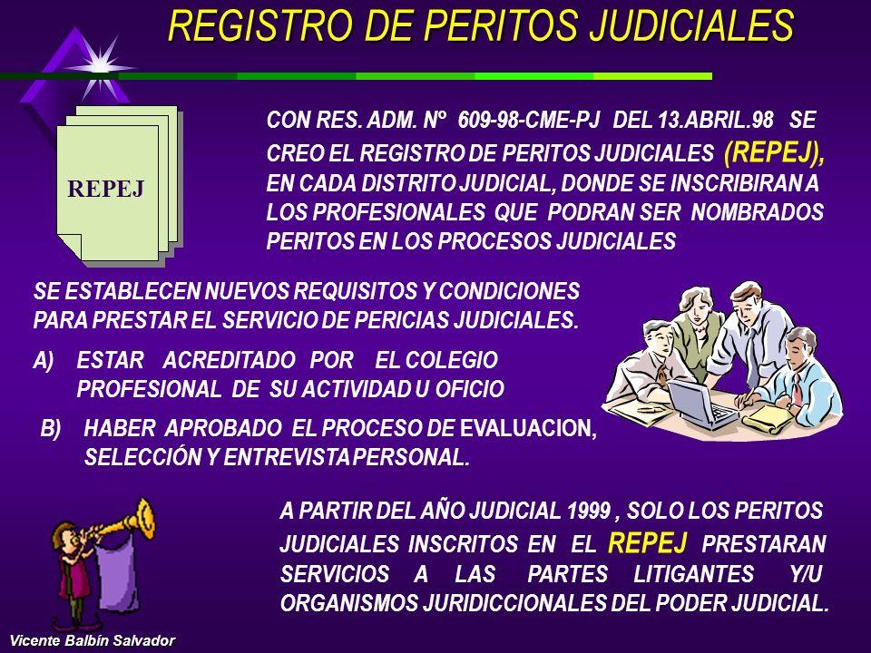 CLASES DE PERITOS CONTABLES PERITOS DE OFICIO: SON NOMBRADOS POR LOS MAGISTRADOS DEL PODER JUDICIAL DE LAS NOMINAS OFICIALES DEL REPEJ. PERITOS DE PAR